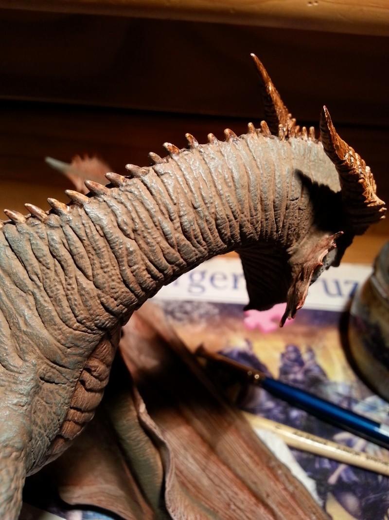 """The Vermithrax Dragon aus Disney´s """"Der Drachentöter"""" von Pegasus Modells 1:32 20130526"""
