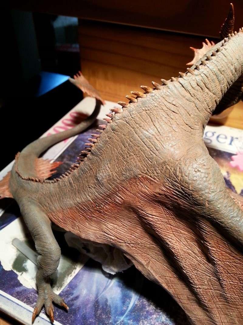"""The Vermithrax Dragon aus Disney´s """"Der Drachentöter"""" von Pegasus Modells 1:32 20130527"""