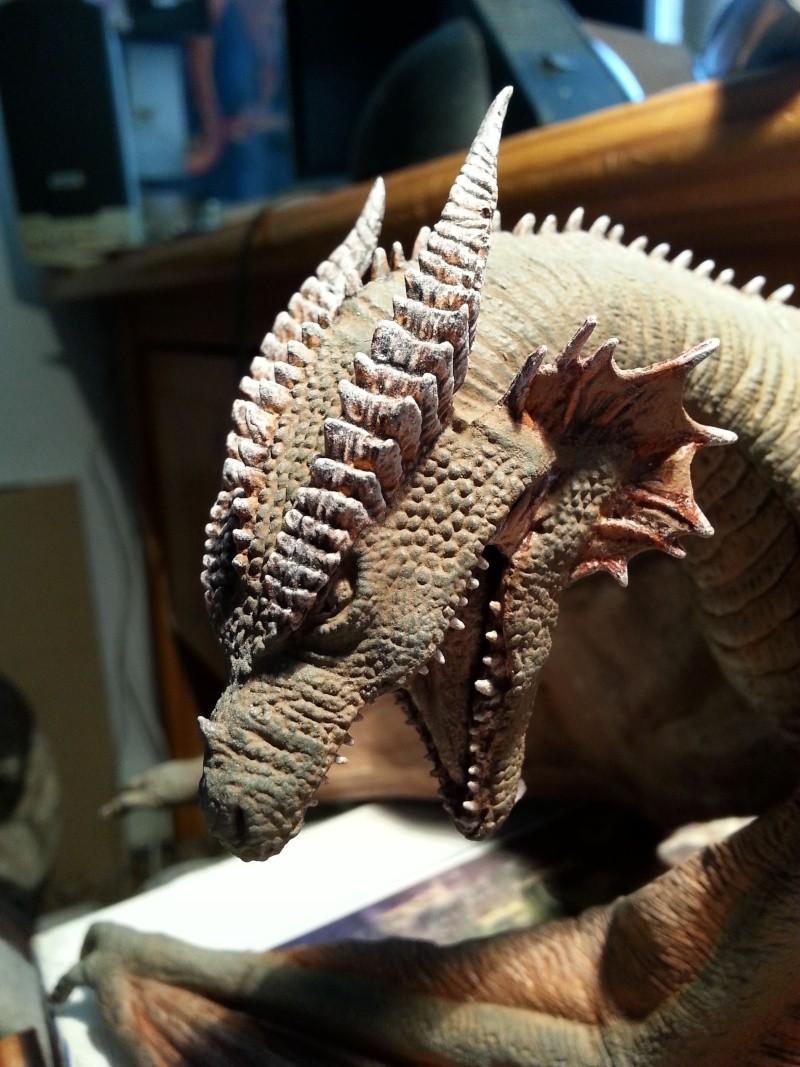 """The Vermithrax Dragon aus Disney´s """"Der Drachentöter"""" von Pegasus Modells 1:32 20130611"""