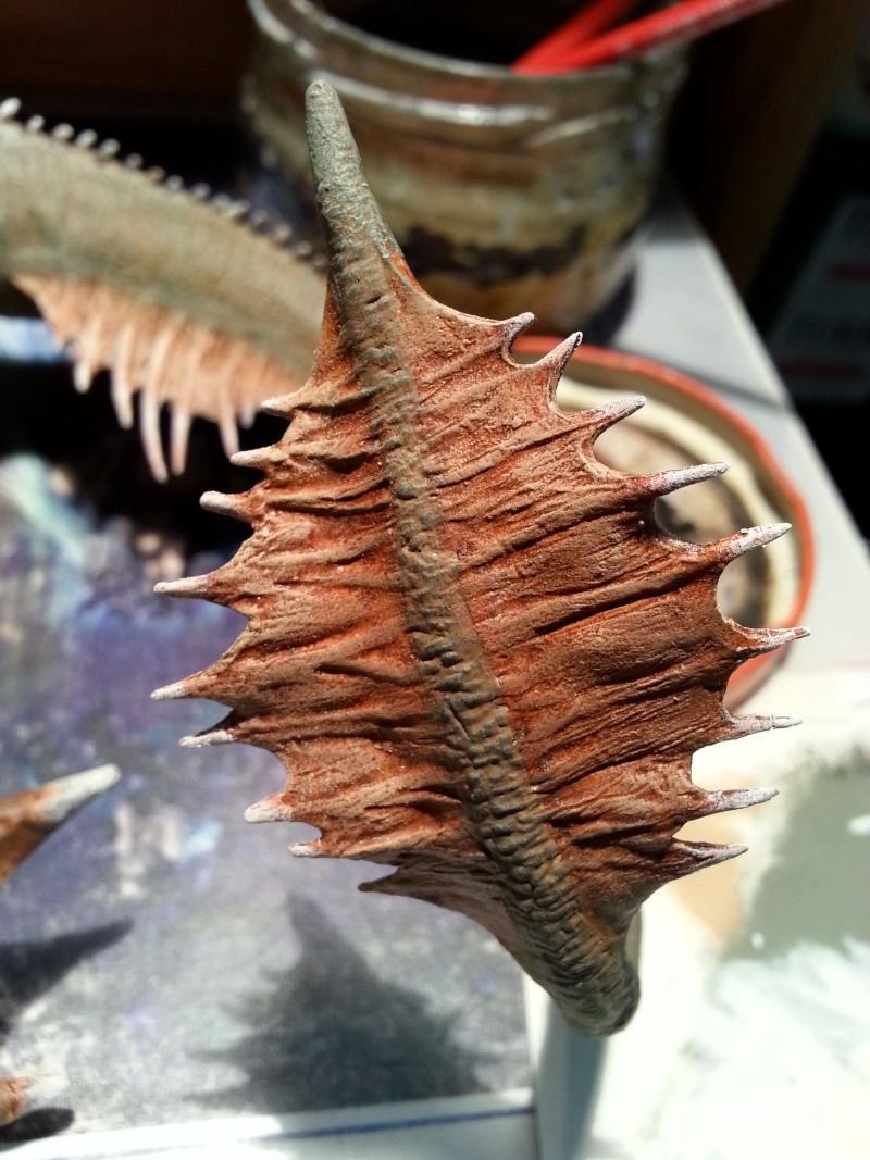 """The Vermithrax Dragon aus Disney´s """"Der Drachentöter"""" von Pegasus Modells 1:32 20130613"""