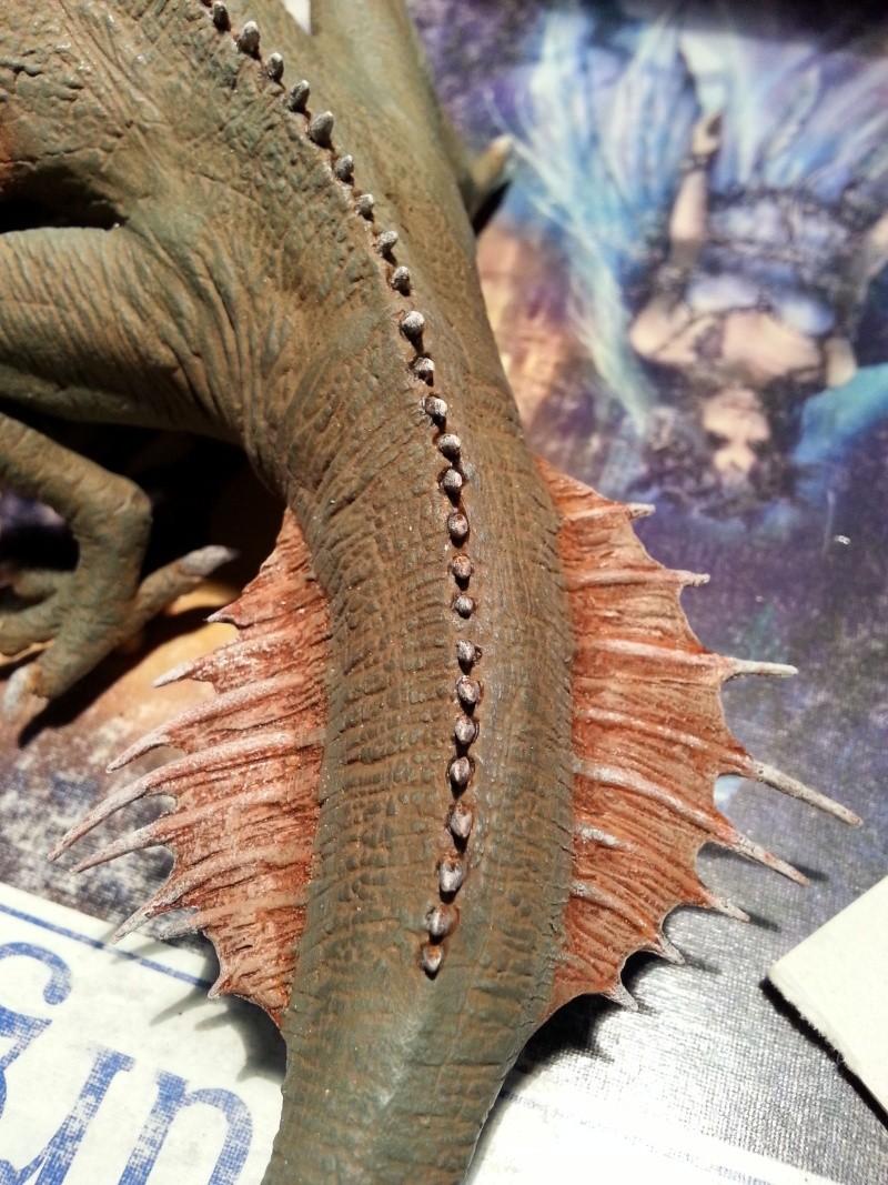 """The Vermithrax Dragon aus Disney´s """"Der Drachentöter"""" von Pegasus Modells 1:32 20130618"""