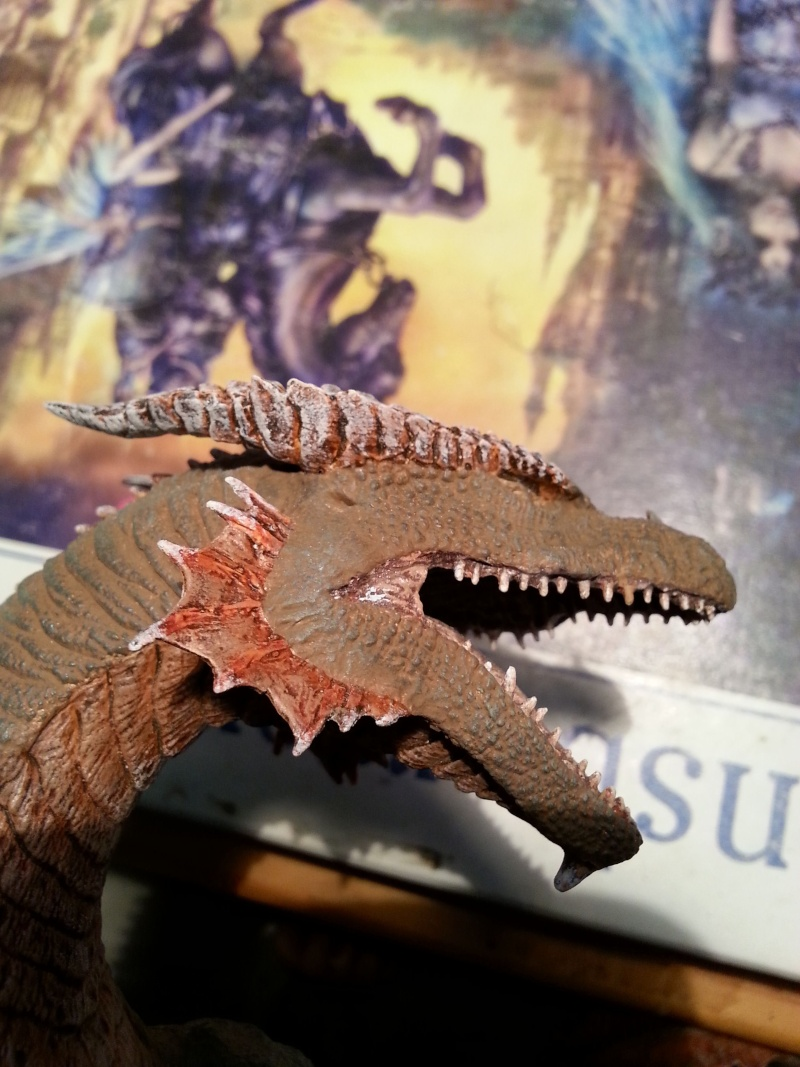 """The Vermithrax Dragon aus Disney´s """"Der Drachentöter"""" von Pegasus Modells 1:32 20130619"""