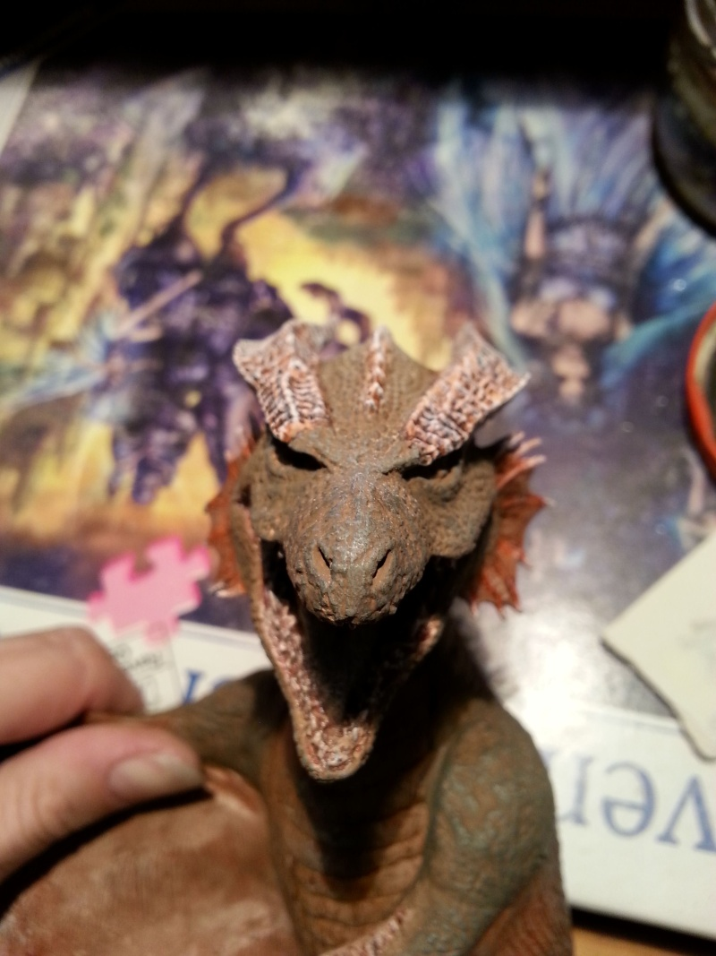 """The Vermithrax Dragon aus Disney´s """"Der Drachentöter"""" von Pegasus Modells 1:32 20130620"""