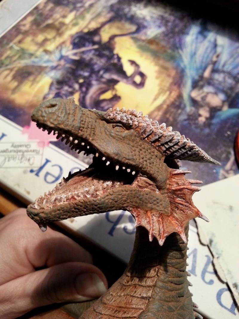 """The Vermithrax Dragon aus Disney´s """"Der Drachentöter"""" von Pegasus Modells 1:32 20130621"""