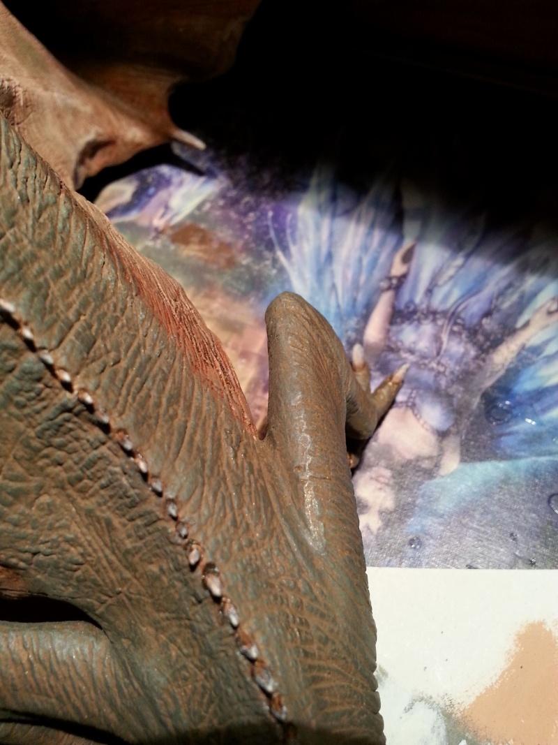 """The Vermithrax Dragon aus Disney´s """"Der Drachentöter"""" von Pegasus Modells 1:32 20130622"""