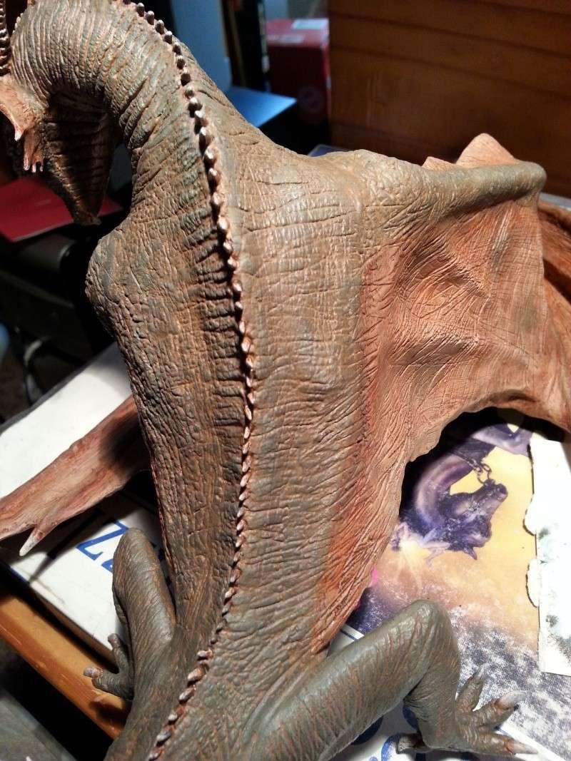 """The Vermithrax Dragon aus Disney´s """"Der Drachentöter"""" von Pegasus Modells 1:32 20130625"""