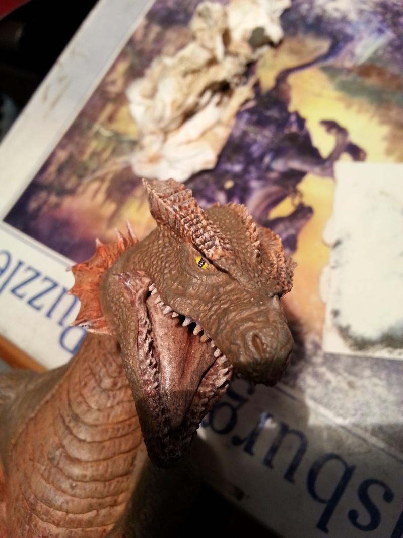 """The Vermithrax Dragon aus Disney´s """"Der Drachentöter"""" von Pegasus Modells 1:32 20130626"""
