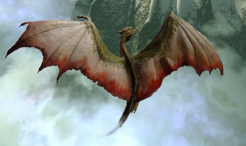 """The Vermithrax Dragon aus Disney´s """"Der Drachentöter"""" von Pegasus Modells 1:32 Dragon10"""