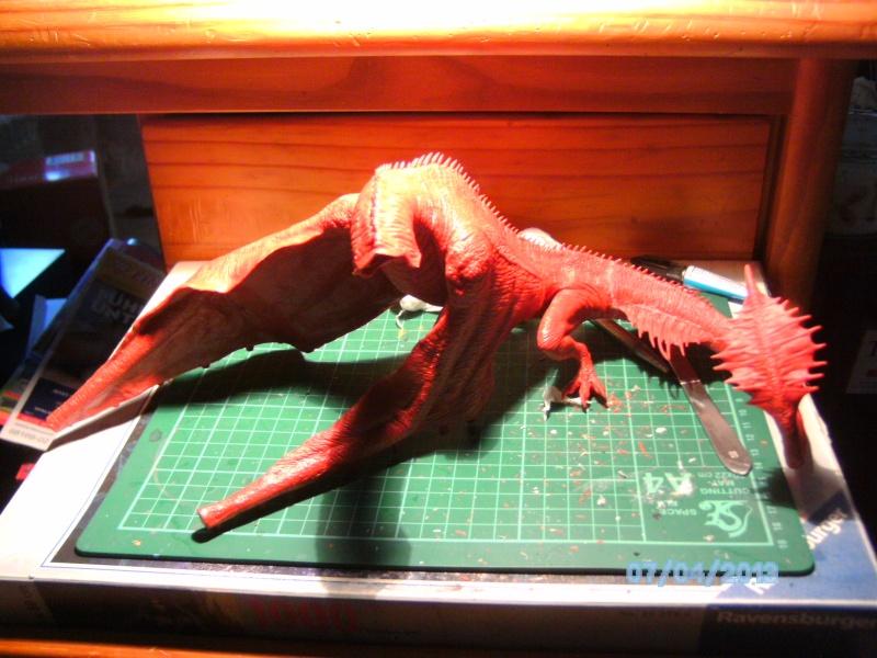 """The Vermithrax Dragon aus Disney´s """"Der Drachentöter"""" von Pegasus Modells 1:32 Pict0411"""
