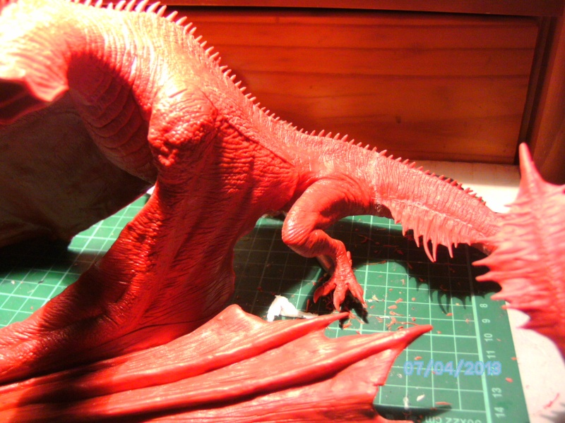 """The Vermithrax Dragon aus Disney´s """"Der Drachentöter"""" von Pegasus Modells 1:32 Pict0412"""