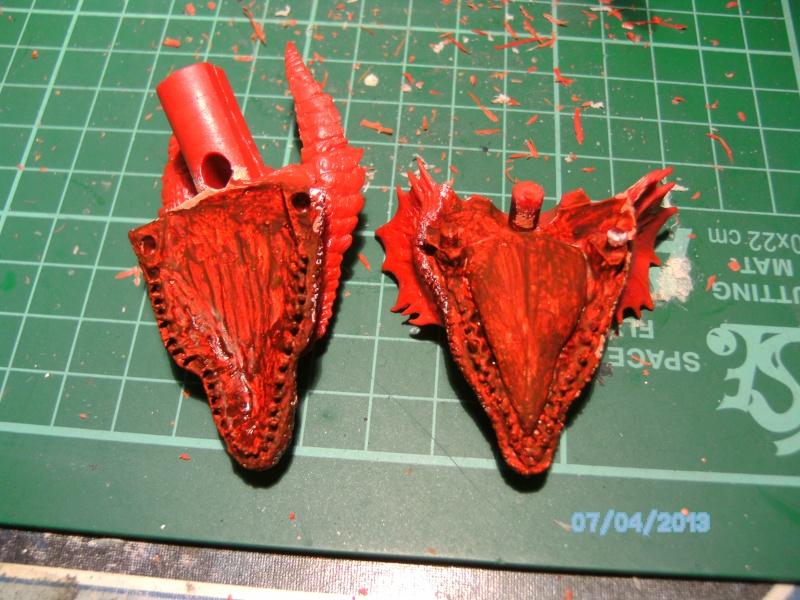 """The Vermithrax Dragon aus Disney´s """"Der Drachentöter"""" von Pegasus Modells 1:32 Pict0415"""