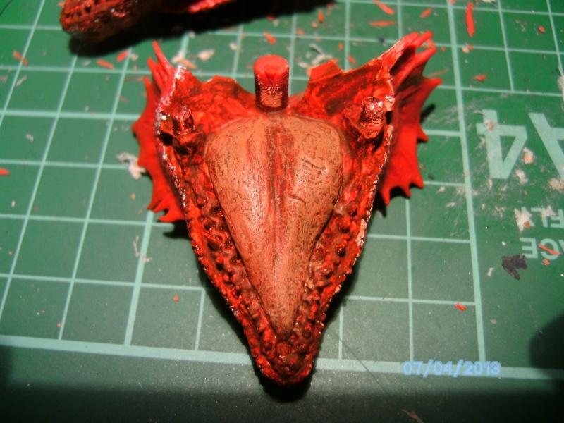 """The Vermithrax Dragon aus Disney´s """"Der Drachentöter"""" von Pegasus Modells 1:32 Pict0416"""
