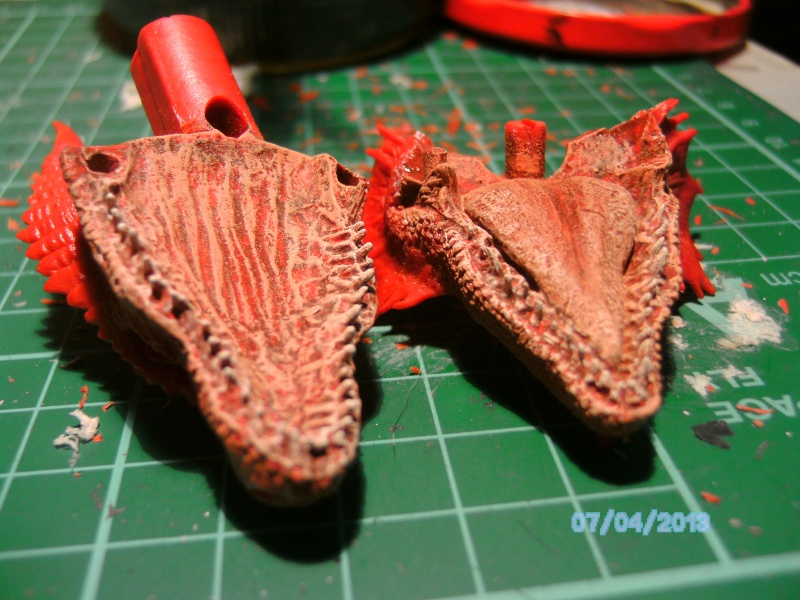 """The Vermithrax Dragon aus Disney´s """"Der Drachentöter"""" von Pegasus Modells 1:32 Pict0418"""