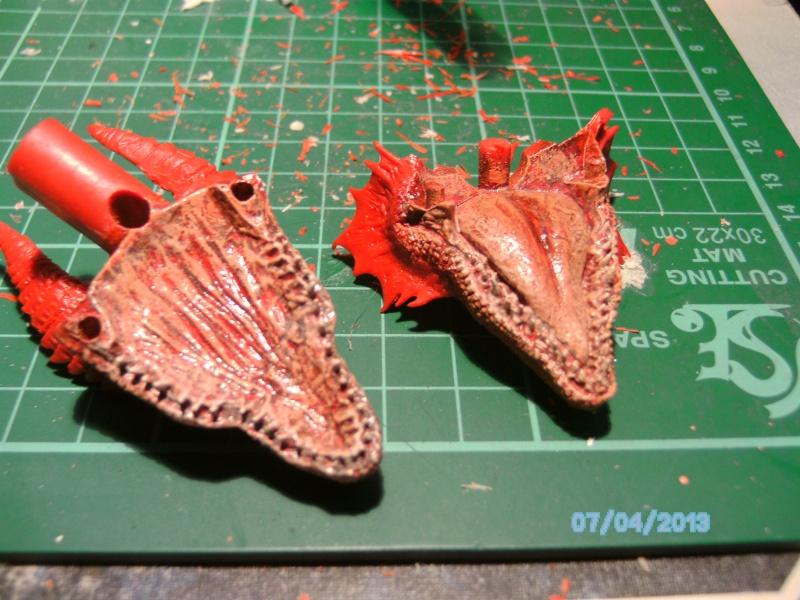 """The Vermithrax Dragon aus Disney´s """"Der Drachentöter"""" von Pegasus Modells 1:32 Pict0419"""