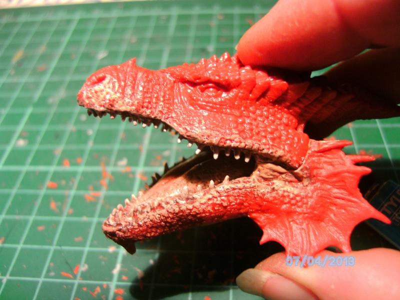 """The Vermithrax Dragon aus Disney´s """"Der Drachentöter"""" von Pegasus Modells 1:32 Pict0420"""