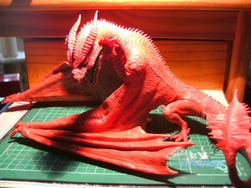 """The Vermithrax Dragon aus Disney´s """"Der Drachentöter"""" von Pegasus Modells 1:32 Pict0421"""