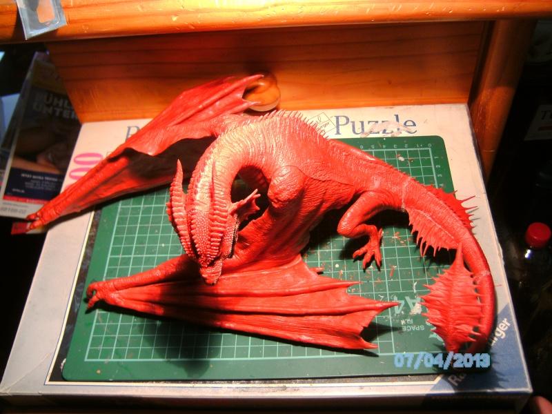 """The Vermithrax Dragon aus Disney´s """"Der Drachentöter"""" von Pegasus Modells 1:32 Pict0423"""
