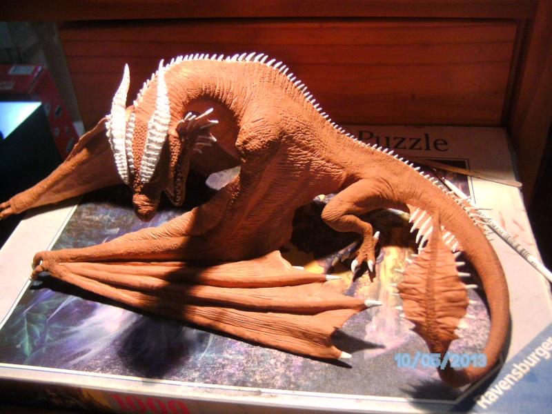 """The Vermithrax Dragon aus Disney´s """"Der Drachentöter"""" von Pegasus Modells 1:32 Pict1110"""