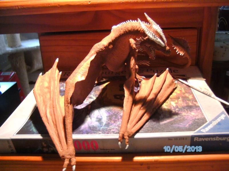"""The Vermithrax Dragon aus Disney´s """"Der Drachentöter"""" von Pegasus Modells 1:32 Pict1111"""