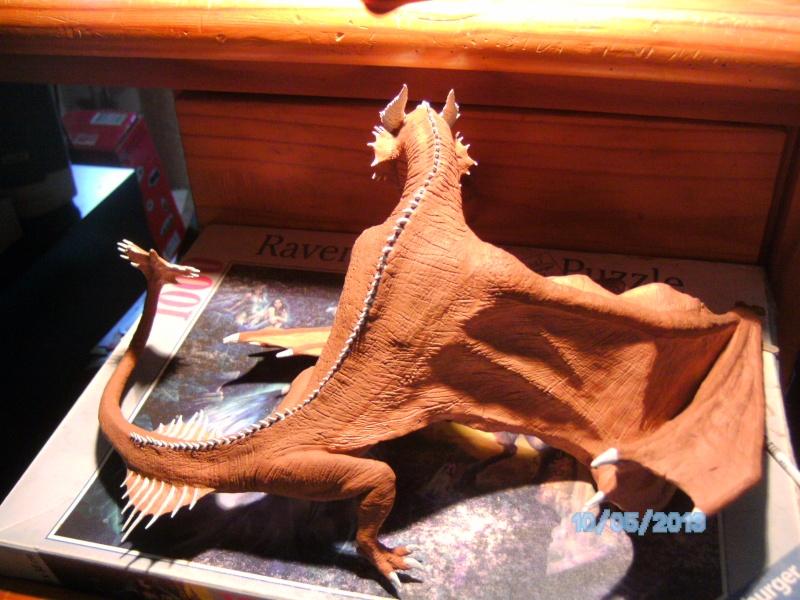 """The Vermithrax Dragon aus Disney´s """"Der Drachentöter"""" von Pegasus Modells 1:32 Pict1112"""