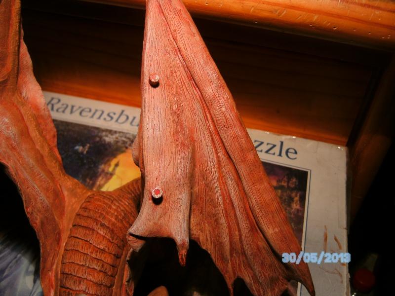 """The Vermithrax Dragon aus Disney´s """"Der Drachentöter"""" von Pegasus Modells 1:32 Pict1121"""