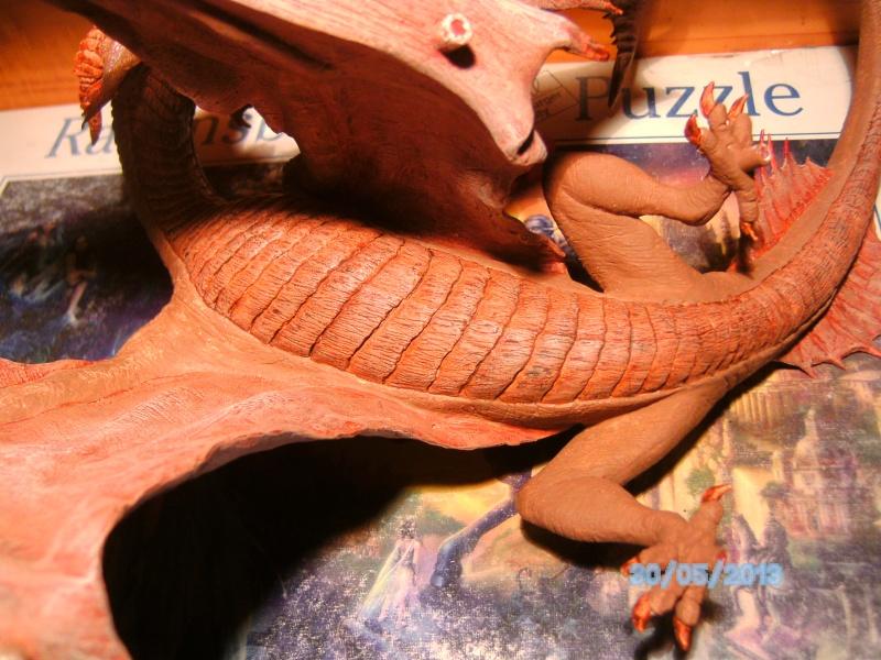 """The Vermithrax Dragon aus Disney´s """"Der Drachentöter"""" von Pegasus Modells 1:32 Pict1122"""