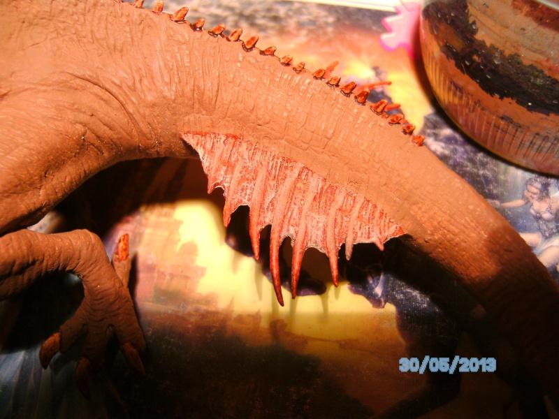 """The Vermithrax Dragon aus Disney´s """"Der Drachentöter"""" von Pegasus Modells 1:32 Pict1126"""