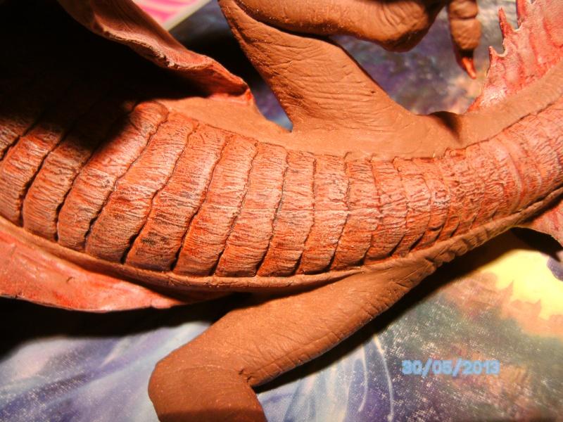 """The Vermithrax Dragon aus Disney´s """"Der Drachentöter"""" von Pegasus Modells 1:32 Pict1127"""