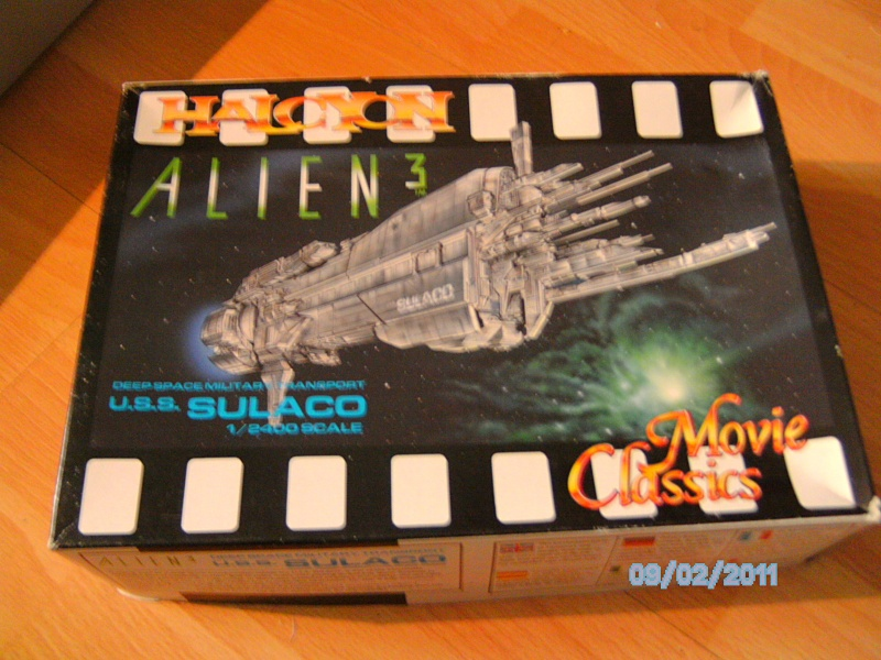 USS Sulaco aus Alien 2 von Halycon 1:2400 Pict1961
