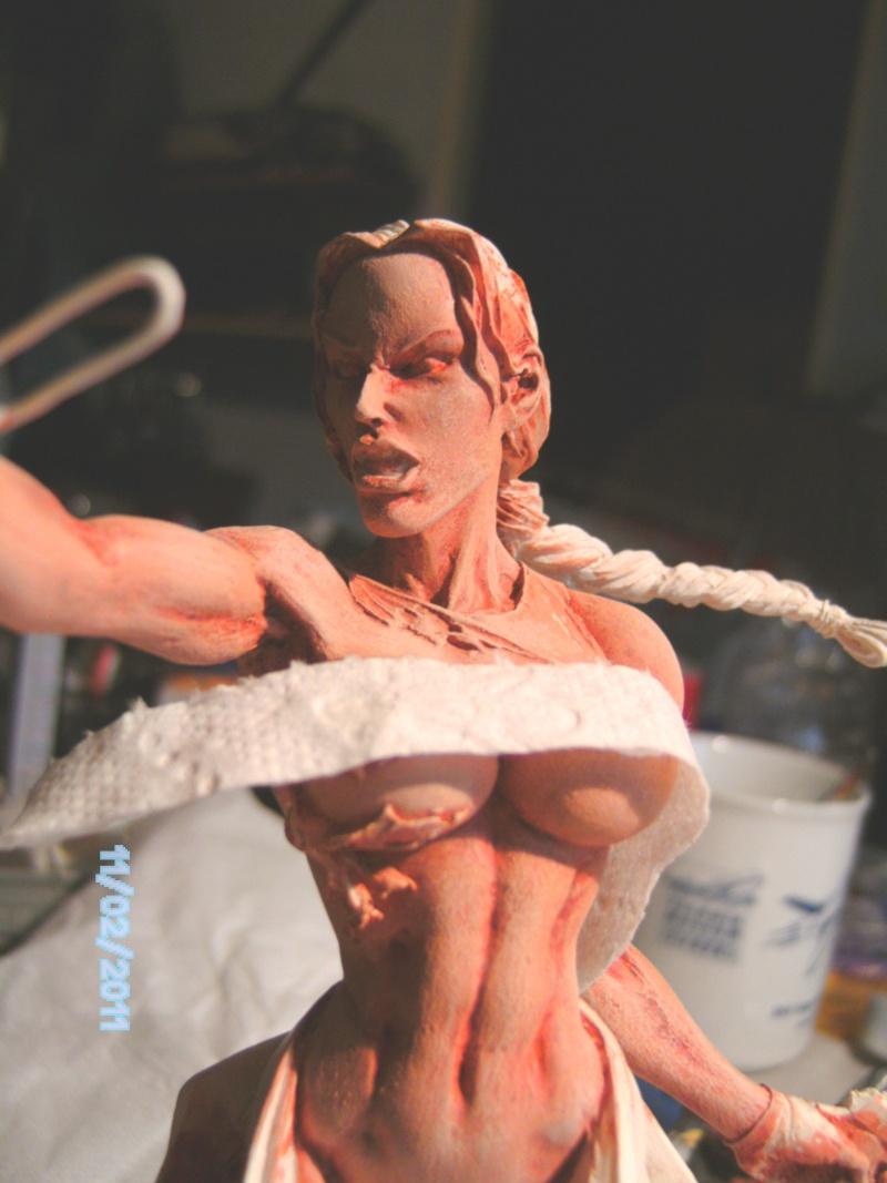 Lara Croft als Nude Raider 1:8 Pict2012