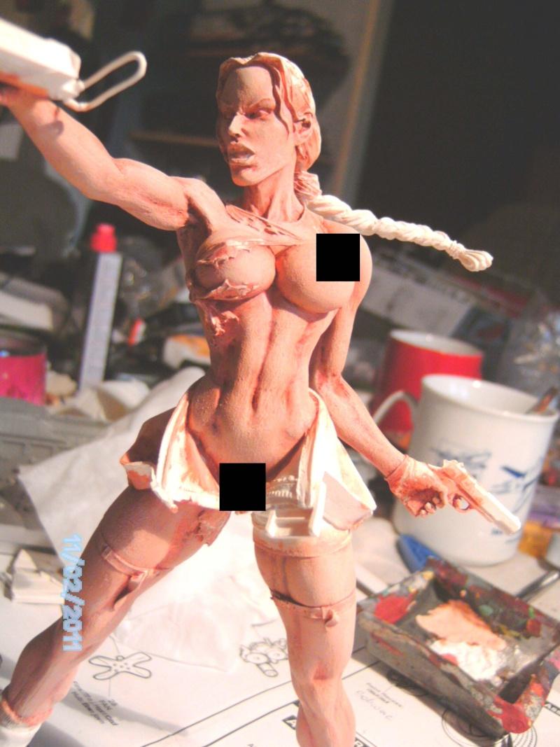 Lara Croft als Nude Raider 1:8 Pict2014