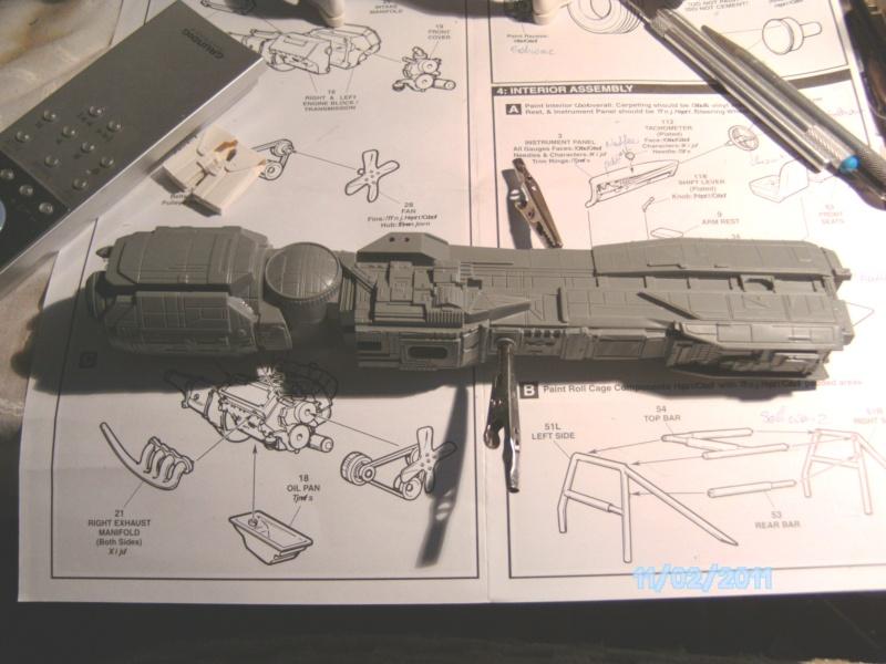 USS Sulaco aus Alien 2 von Halycon 1:2400 Pict2029