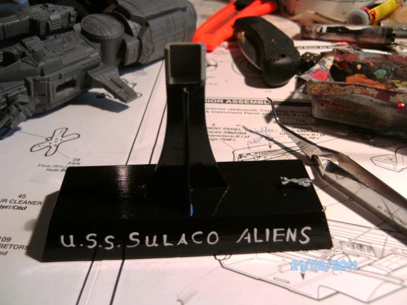 USS Sulaco aus Alien 2 von Halycon 1:2400 Pict2060