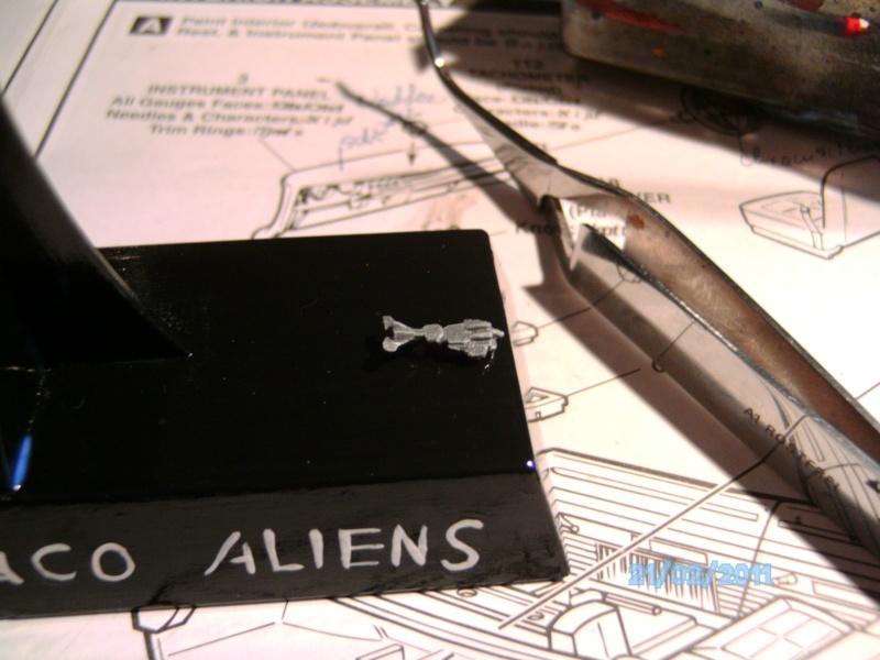 USS Sulaco aus Alien 2 von Halycon 1:2400 Pict2061