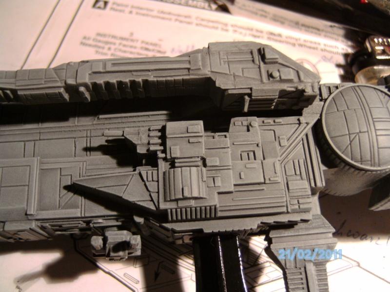 USS Sulaco aus Alien 2 von Halycon 1:2400 Pict2113