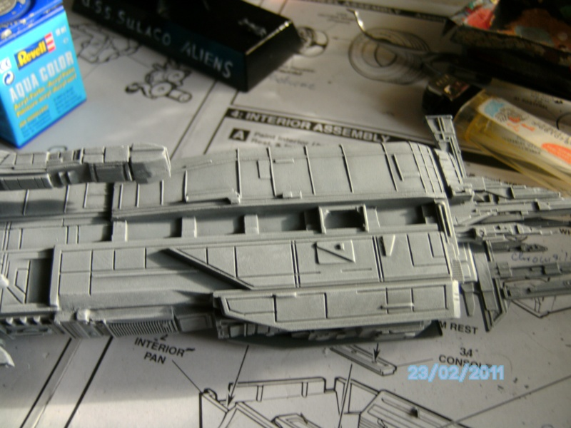 USS Sulaco aus Alien 2 von Halycon 1:2400 Pict2114