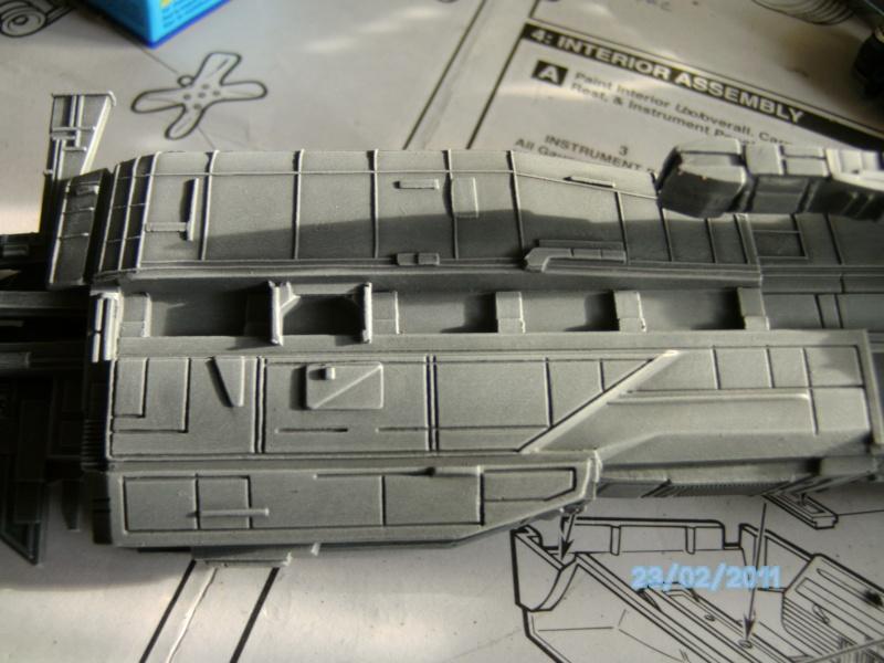 USS Sulaco aus Alien 2 von Halycon 1:2400 Pict2115