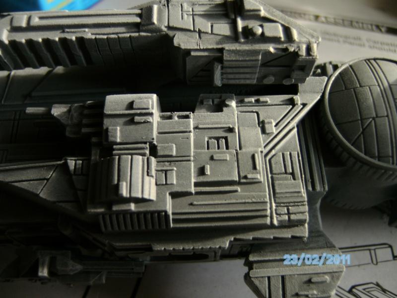 USS Sulaco aus Alien 2 von Halycon 1:2400 Pict2117