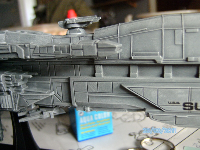 USS Sulaco aus Alien 2 von Halycon 1:2400 Pict2120