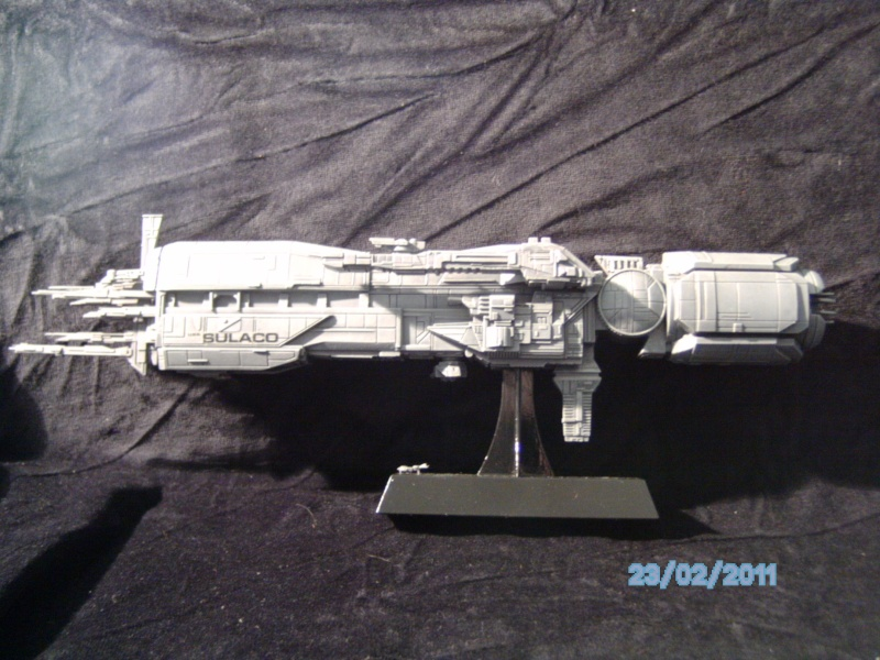 USS Sulaco aus Alien 2 von Halycon 1:2400 Pict2128