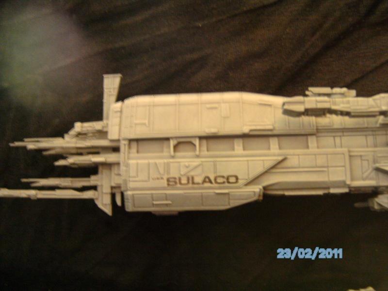USS Sulaco aus Alien 2 von Halycon 1:2400 Pict2129