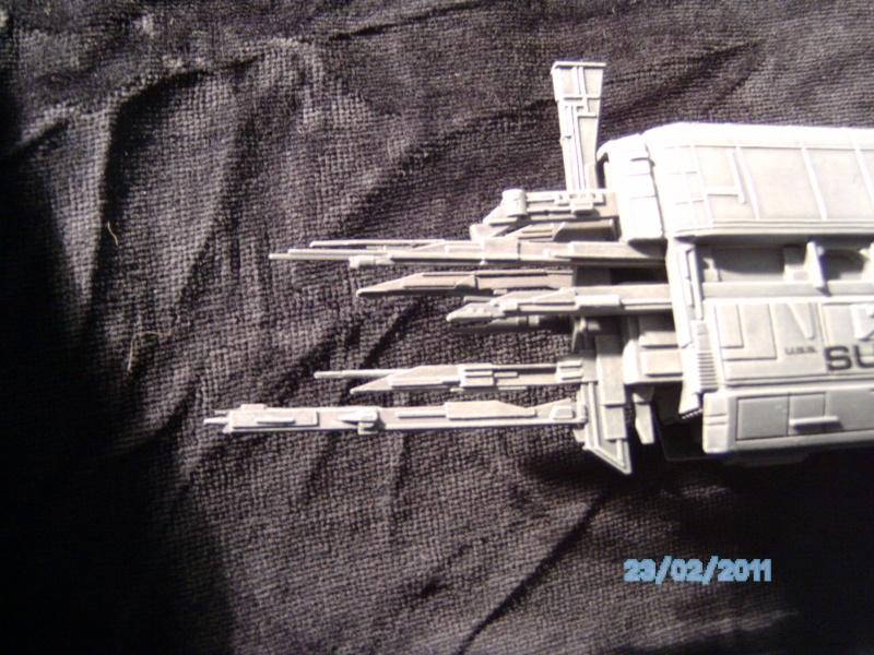 USS Sulaco aus Alien 2 von Halycon 1:2400 Pict2130