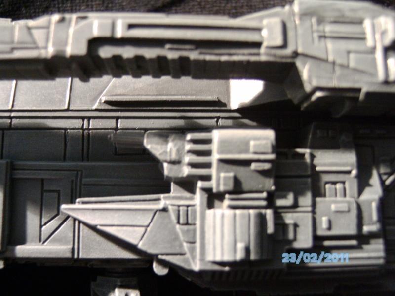 USS Sulaco aus Alien 2 von Halycon 1:2400 Pict2131