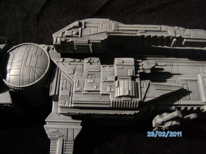USS Sulaco aus Alien 2 von Halycon 1:2400 Pict2138