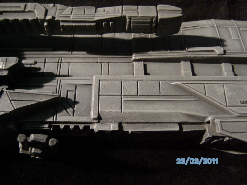 USS Sulaco aus Alien 2 von Halycon 1:2400 Pict2139
