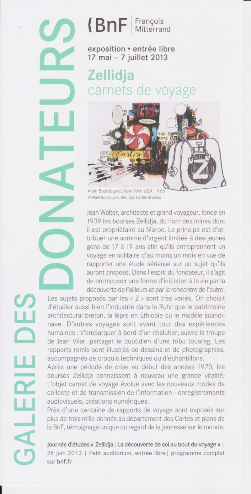 La Géographie, Terre des Hommes, numéro spécial carnets Zellidja Bnf_ze10