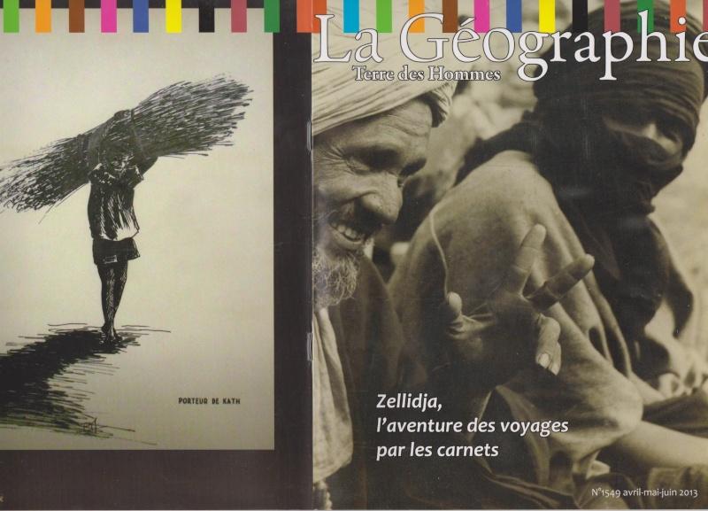 La Géographie, Terre des Hommes, numéro spécial carnets Zellidja Geogra10