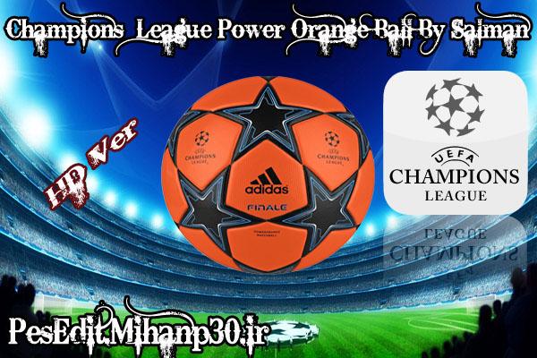 Champion League Power Orange Ball (By Salman) User_110