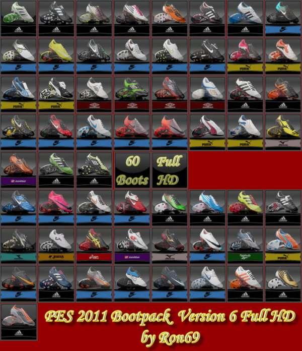 Recopilación de boots/bootpacks (PES 2011) User_156