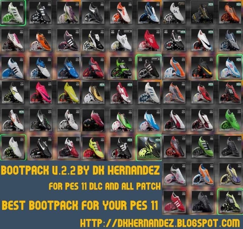 Recopilación de boots/bootpacks (PES 2011) User_164